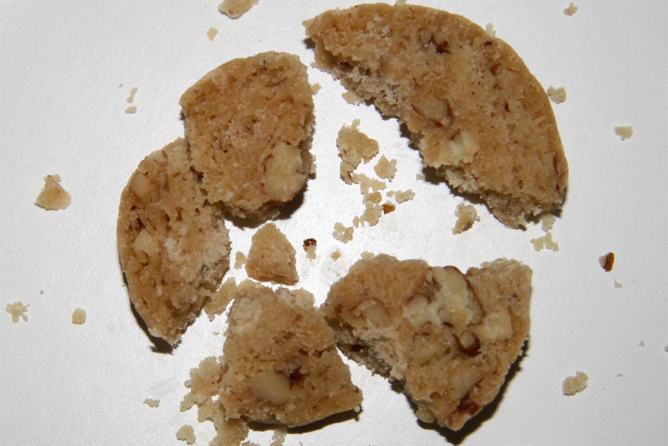 Broken cookie, epic kitchen fail