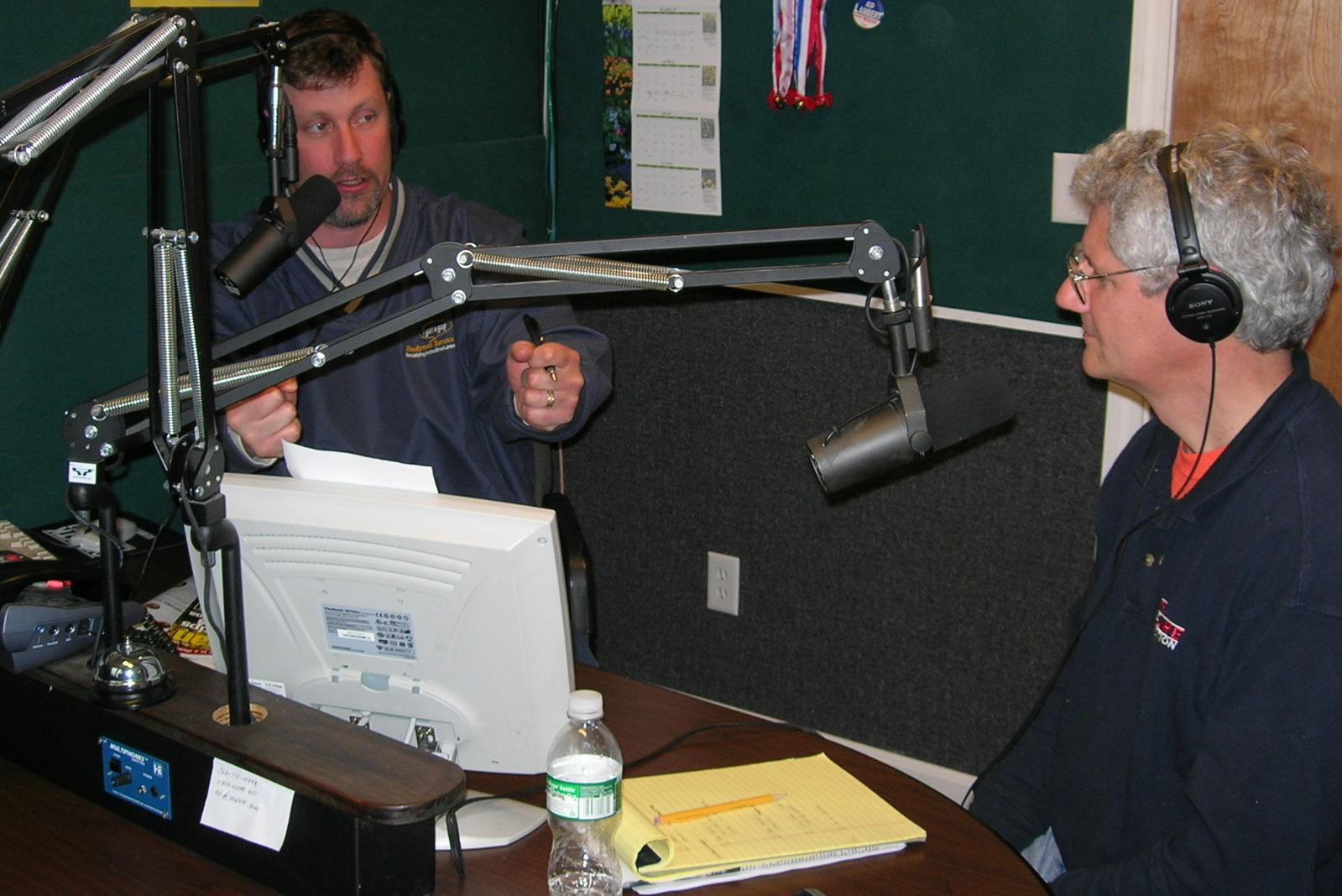 Larry Egan and John O'Rourke the Handyman Hotline guys